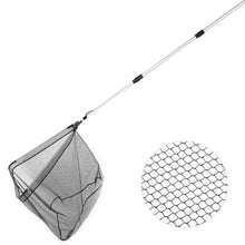 Load image into Gallery viewer, RUNACC Fishing Landing Net with Telescopic Pole Handle, 37.4'' Length