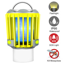Load image into Gallery viewer, RUNACC-3W-Camping-Lantern-LED-Flashlight-Bug-Zapper-with-2200mAh-Rechargeable-Battery-IP66-Waterproof-1