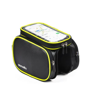 RUNACC Bike Bags 6.5 Inches Phone Bag Head Tube Pouch with Rain Cover