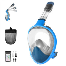 Load image into Gallery viewer, RUNACC-180°-View-Panoramic-Snorkel-Mask