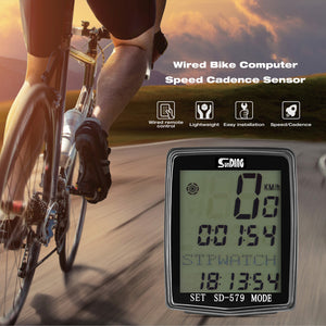 RUNACC Wired Bike Computer Universal Bike Speedometer
