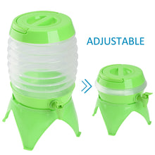 Load image into Gallery viewer, RUNACC 5.5 L Outdoor Folding Water Container with Tap