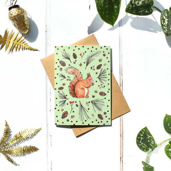 Woodland Animals Seasonal Card Set of 3