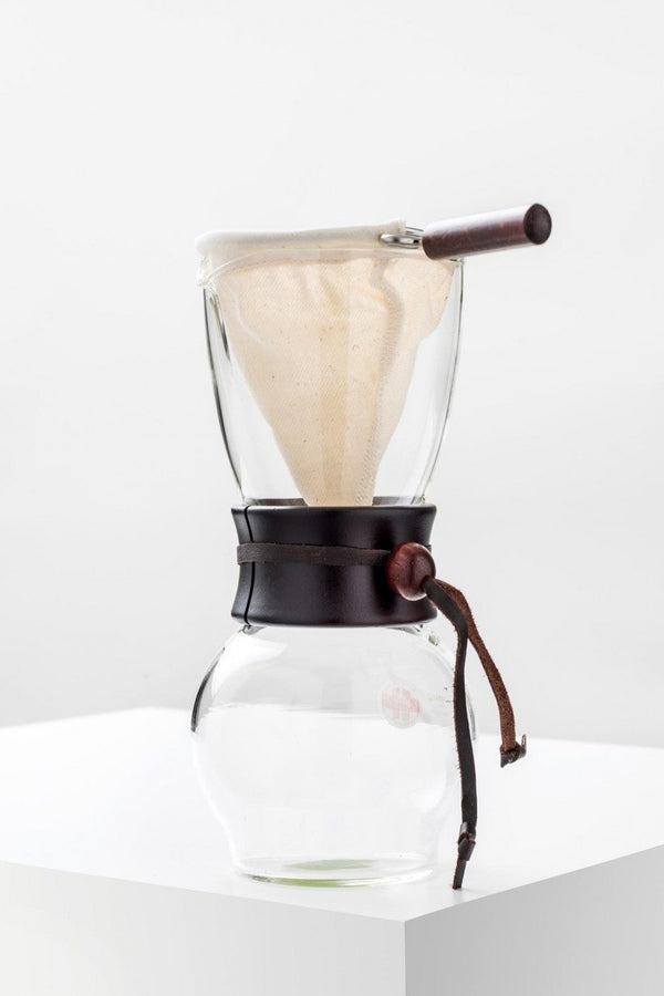 Hario Drip Pot Woodneck 480ml hand brewer - environmentally friendly