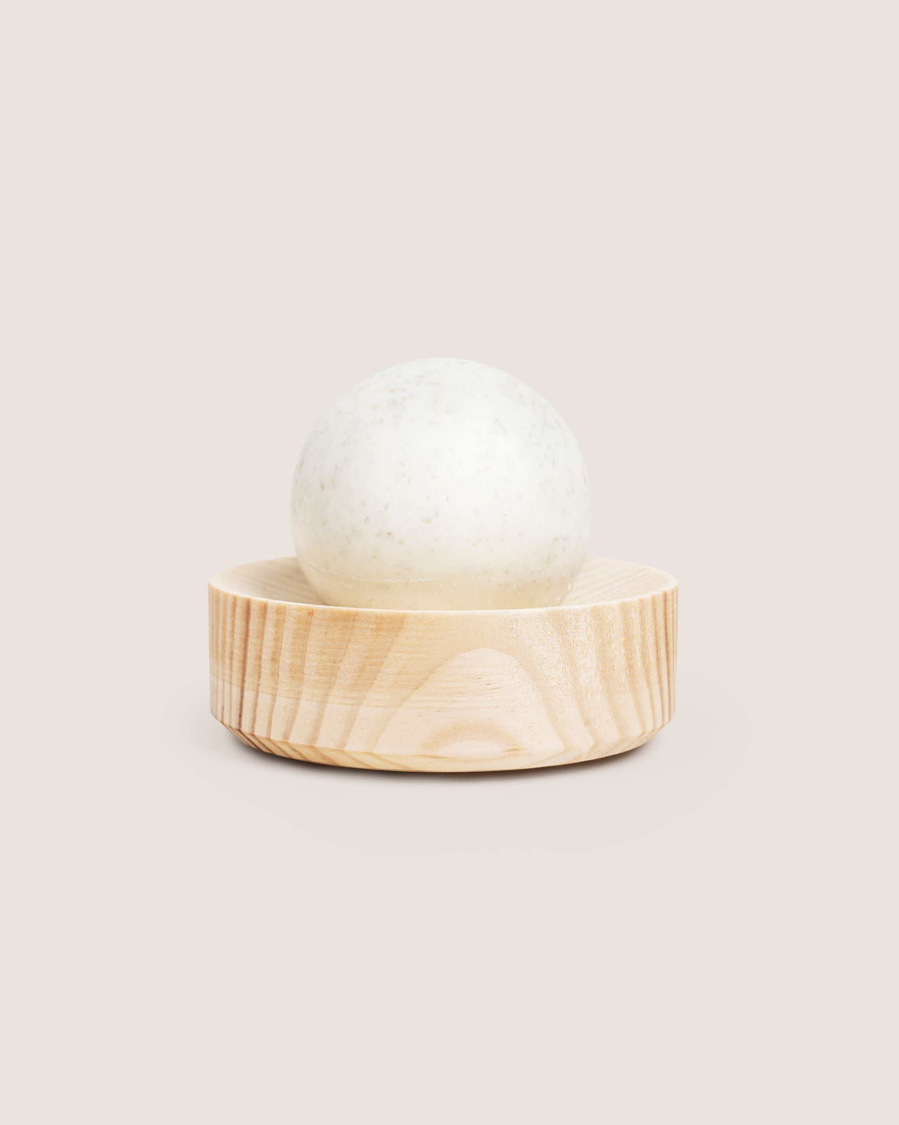 pine-peppermint saltsoap set  natural round