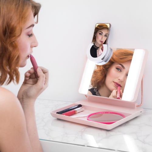 SPOTLITE HD ULTRA-BRIGHT TRUE DAYLIGHT MAKEUP MIRROR