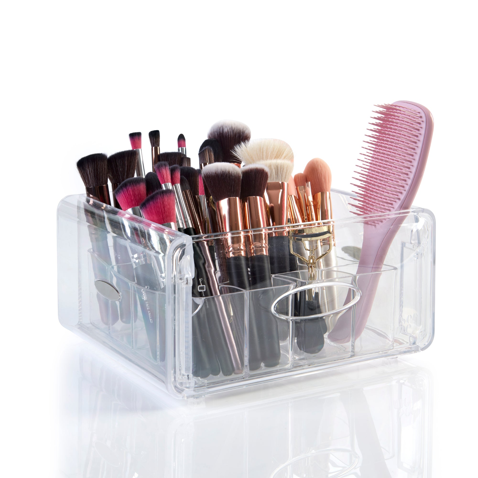 SEE ME ECLIPSE :: MAKEUP BRUSHES & ACCESSORIES ORGANISER - JUST OWN IT :: UK