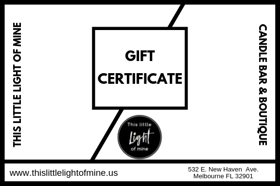 This Little Light of Mine- Gift Certificate