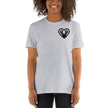 Load image into Gallery viewer, Black on Black Love T-Shirt