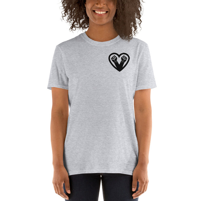 Black on Black Love T-Shirt
