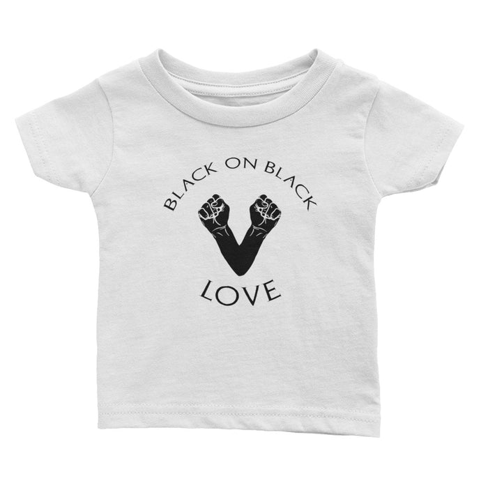Black on Black Love Infant Tee