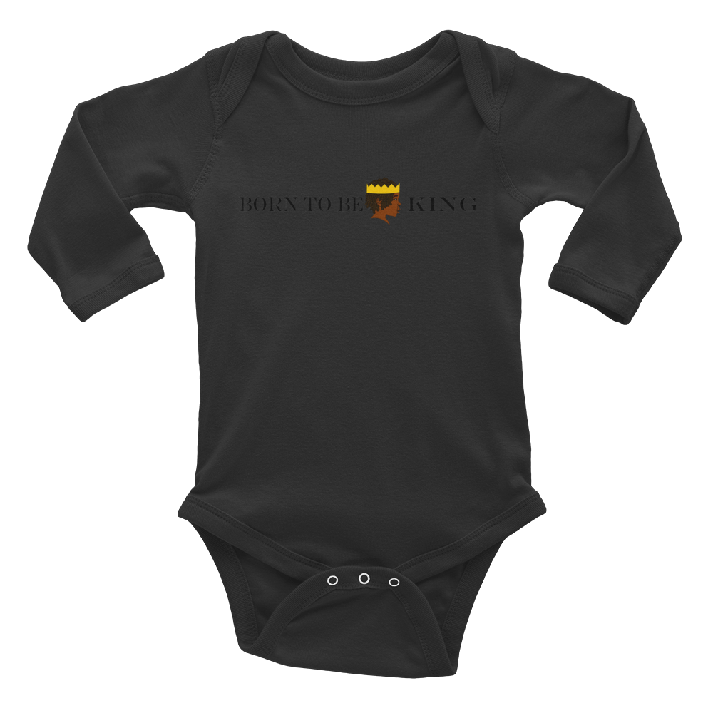 Born KiNG Infant Long Sleeve Bodysuit