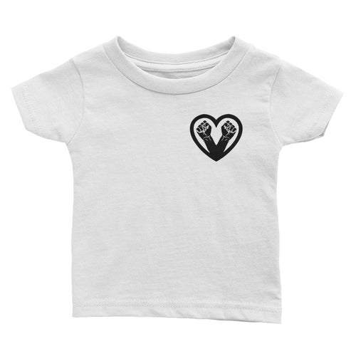 Black Love Infant Tee
