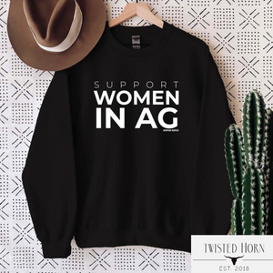 Support Women in AG Sweatshirt