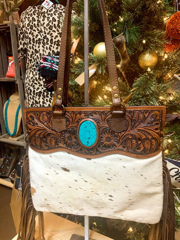 TH The Turquoise Belle Purse