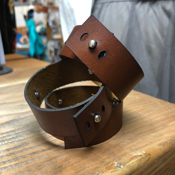 TH Cowgal Leather Bracelet
