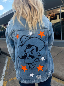 Stars Pete Painted Denim Jacket
