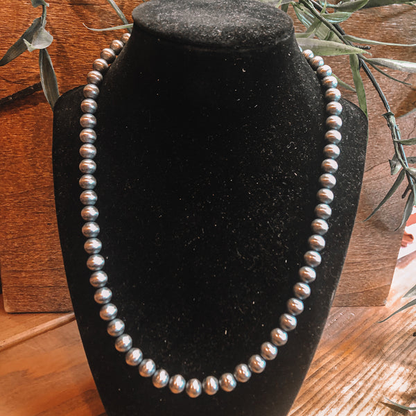 "8mm 20"" Navajo Pearls"