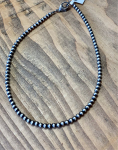"4mm 14"" Navajo Pearls"