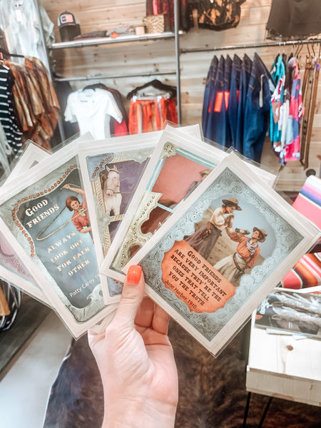 Cowgirl Cards