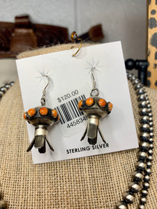 Spiny Oyster Blossom Earrings