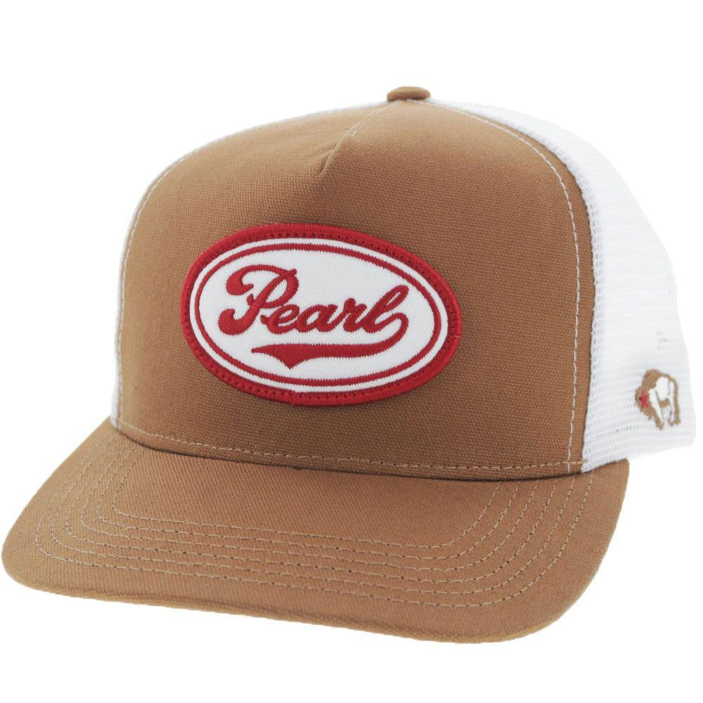 "Hooey ""Pearl"" Tan/White Trucker Hat"