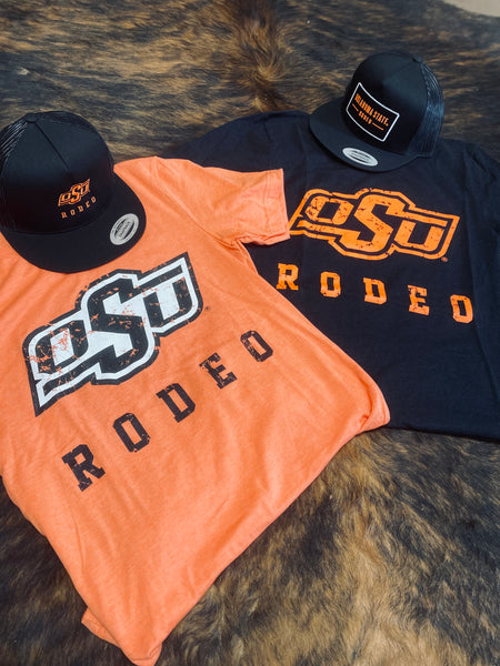 Black OSU Rodeo Tee