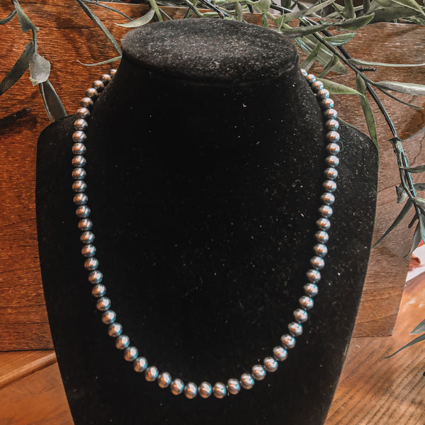 "6mm 18"" Navajo Pearls"