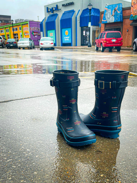 Pendleton Geo Mix Short Rain Boots