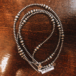 "Graduated 36"" Navajo Pearls"