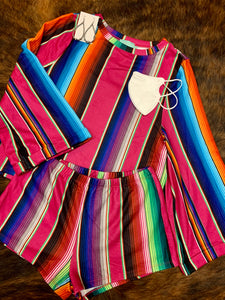 Serape Lounge Set