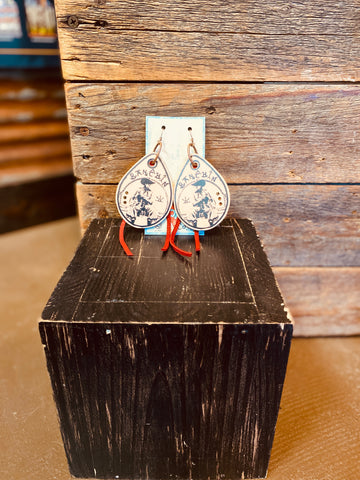 Ranchin' Teardrop Earrings