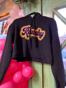 Ranchy Cropped Hoodie