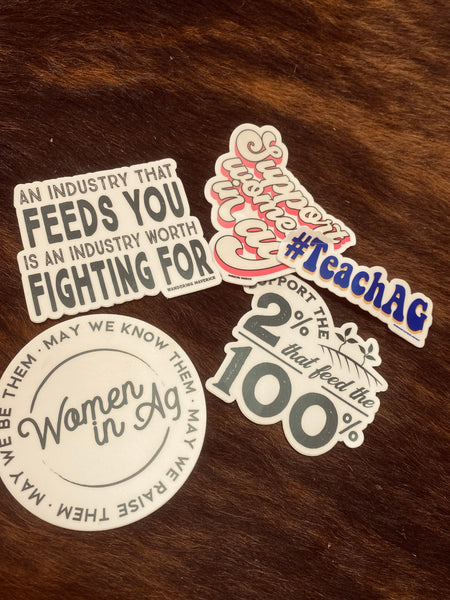 Ag Stickers