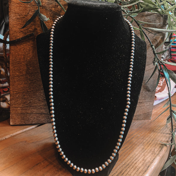 "5mm 24"" Navajo Pearls"