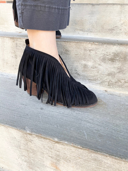 TH Fringe Booties