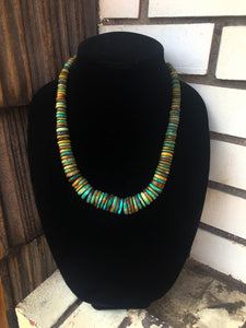 Graduated Royston Turquoise Necklace