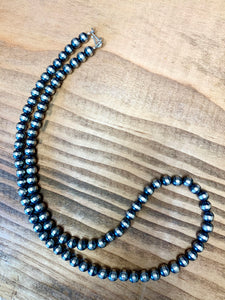 6mm 20in Navajo Pearls