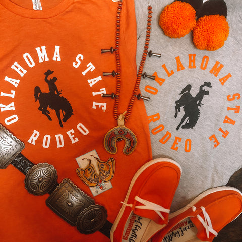 Oklahoma State Rodeo Short Sleeved Tee
