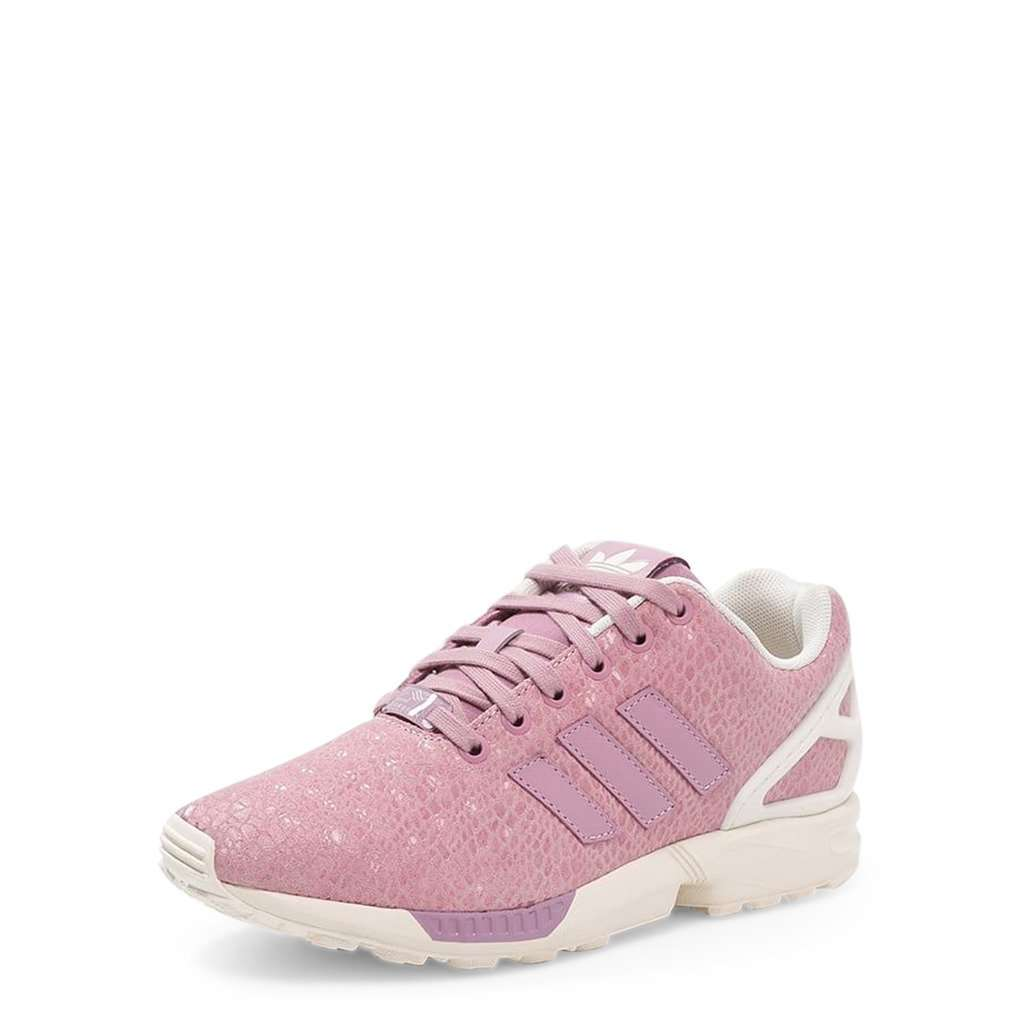 wholesale offer discounts free delivery Adidas ZX-FLUX Basket Femme Rose, lacets rose