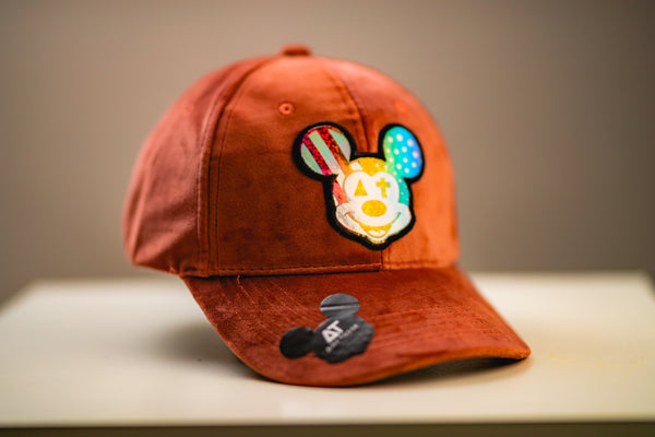 Alex Todge | Casquette Velours Orange