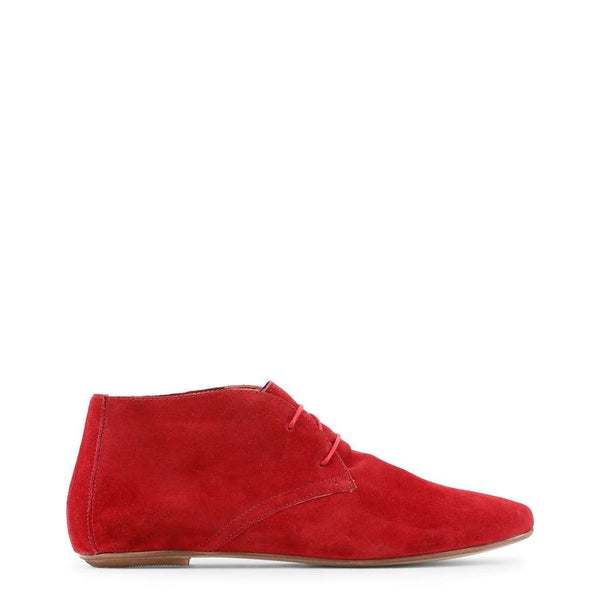 Arnaldo Toscani Femme Chaussure montante lacets dessus cuir Rouge