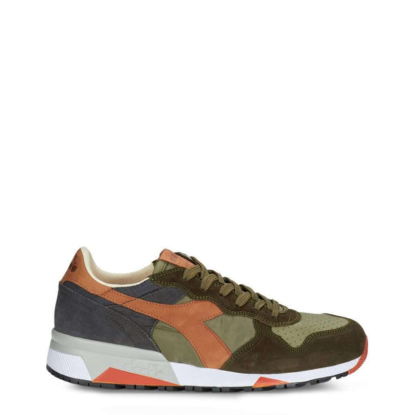 Diadora Heritage - Homme Sneakers Dominante Vert Modèle TRIDENT_90_NYL