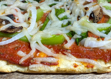 "Load image into Gallery viewer, ""GLUTEN-FREE"" Sweet Basil Pizza Crust & Sauce Mix"