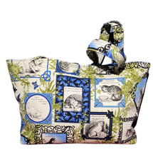 Load image into Gallery viewer, Cat Play | One-Of-A-Kind Quilted Tote By Nancy