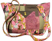 Load image into Gallery viewer, Sweet Doggie Faces | One-Of-A-Kind Quilted Tote By Nancy