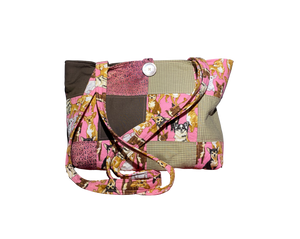 Sweet Doggie Faces | One-Of-A-Kind Quilted Tote By Nancy
