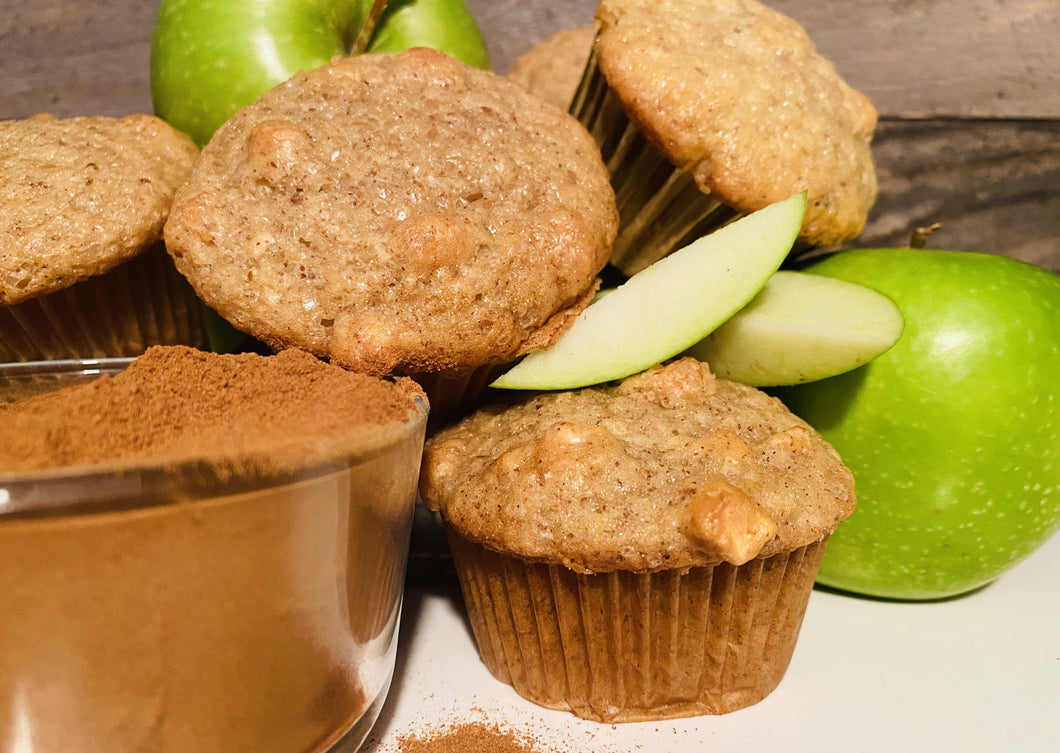 Vegan Muffins - Apple Cinnamon