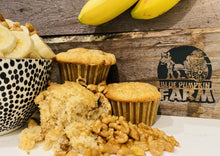 Load image into Gallery viewer, Vegan Muffins - Banana Nut