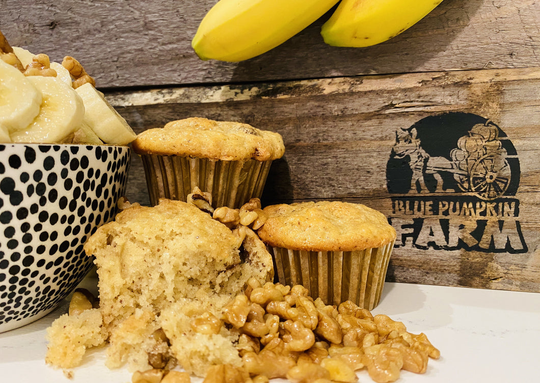 Vegan Muffins - Banana Nut